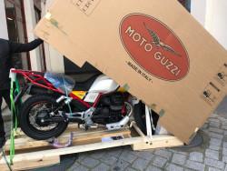 ARRIVAGE MOTO GUZZI V85TT